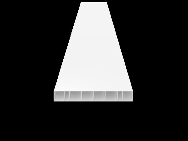 Koppelprofil 150x20x1 mm 6,00 m lang