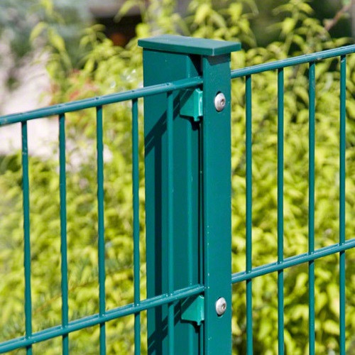Pfosten Typ A für Zaunhöhe 1,20 m RAL6005