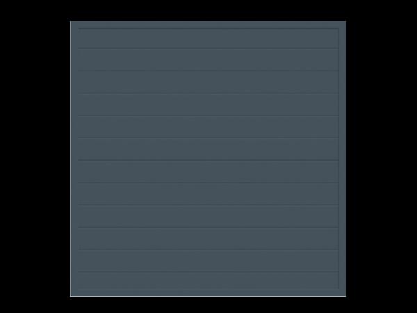 Alu-Sichtschutz rechteckig B = 1,80 x H = 1,80 m