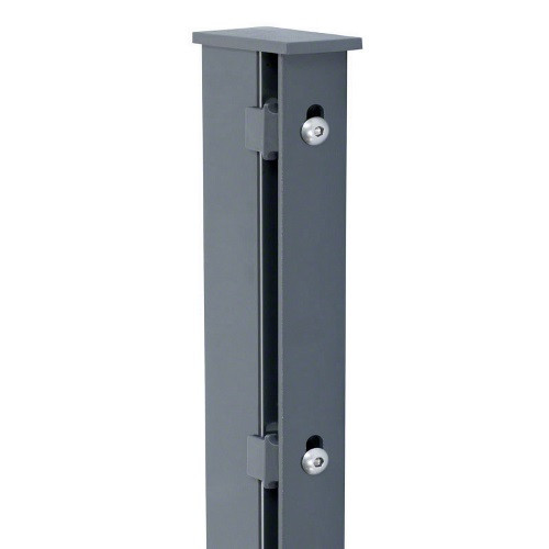 Pfosten Typ A für Zaunhöhe 1,80 m RAL7016
