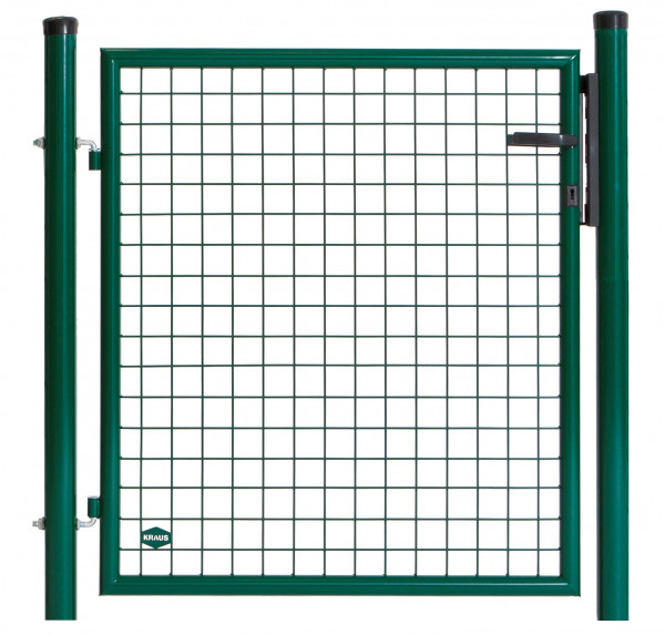Gartentor B=1,25 m H=1,75 m grün