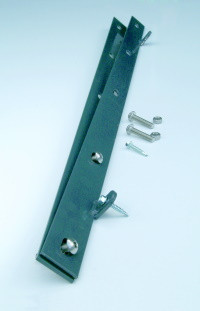 Zaunanschlussleiste (einseitig) 1,60 m RAL6005