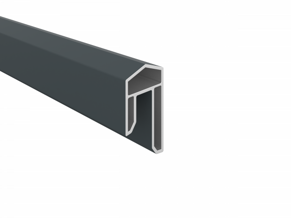 PVC-Abdeckleiste 31 x 17 mm, 1,76 m lang, verschiedene Dekore