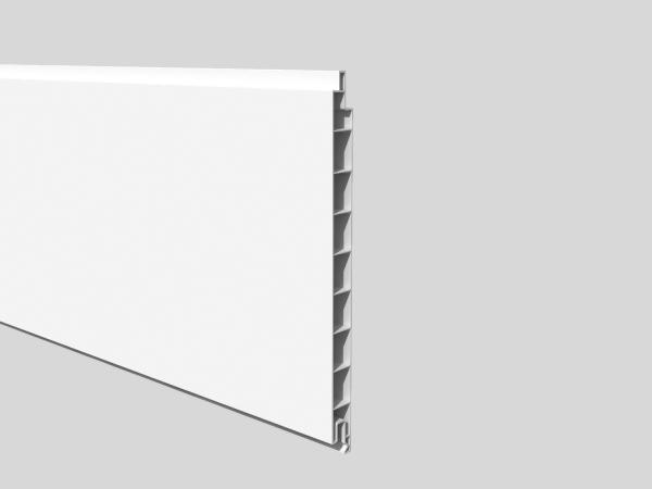Nut- und Feder Füllprofil 20 x 1,7 cm, Länge 200 cm