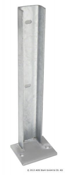 Fußplatte für Gabionensystem SAPHIR