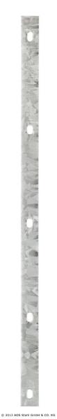 Abdeckleiste A - 830mm - RAL6005