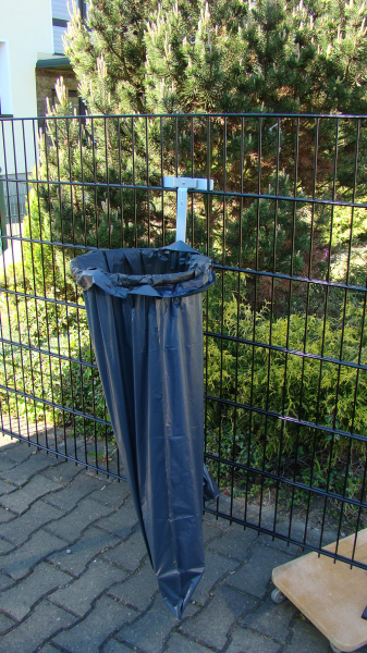 Halterung für Müllbeutel