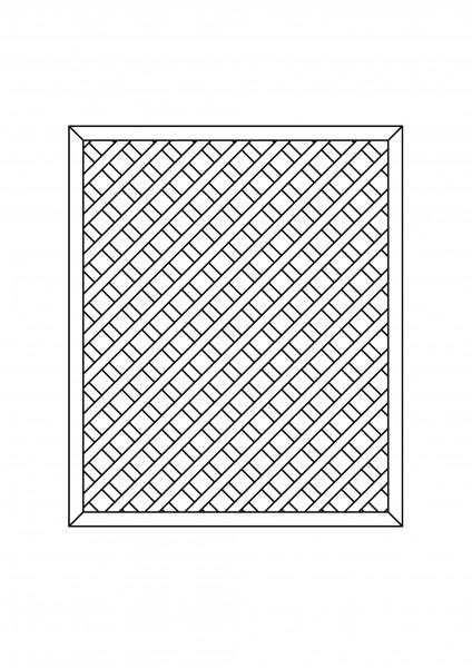 Rankgitter rechteckig B = 1,50 x H = 1,80 m