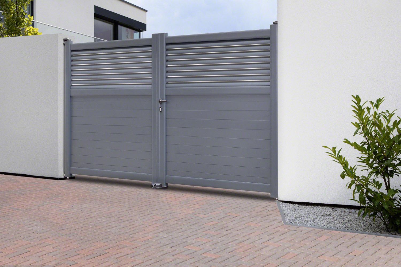 aluminium gartentor kansas online kaufen zaun. Black Bedroom Furniture Sets. Home Design Ideas