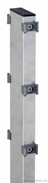 Gabionen-Doppelpfosten für Zaunhöhe 830mm verzinkt