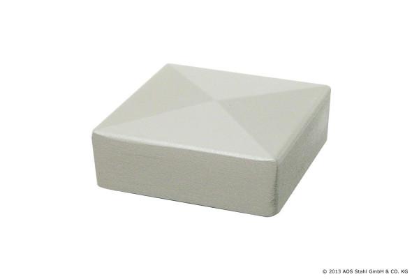 Aluminiumkappe 80/80 RAL6005 Moosgrün