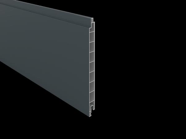 PVC- Füllprofil 200 x 17 mm, 1,76 m lang verschiedene Dekore