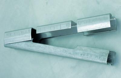 Gittermattenverbinder Edelstahl für Matten 8/6/8 mm