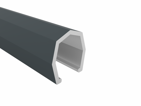 Alu-Abdeckleiste 17 x 17 mm, 1,76 m lang