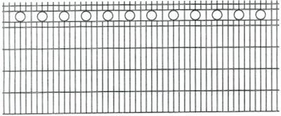 Schmuckzaun ROM H= 1,20 m verzinkt