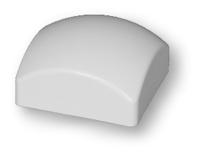 """Pfostenkappe """"rund"""" 87x87 mm"""