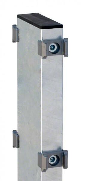 Gabionen-Doppelpfosten für Zaunhöhe 1630mm verzinkt