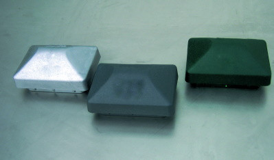 Kunststoffkappe 60/40 RAL7016