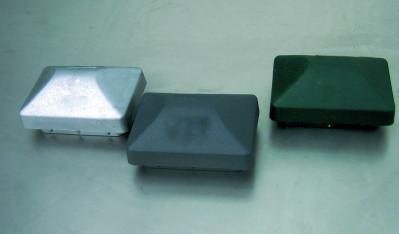 Kunststoffkappe 60/40 RAL9005 schwarz