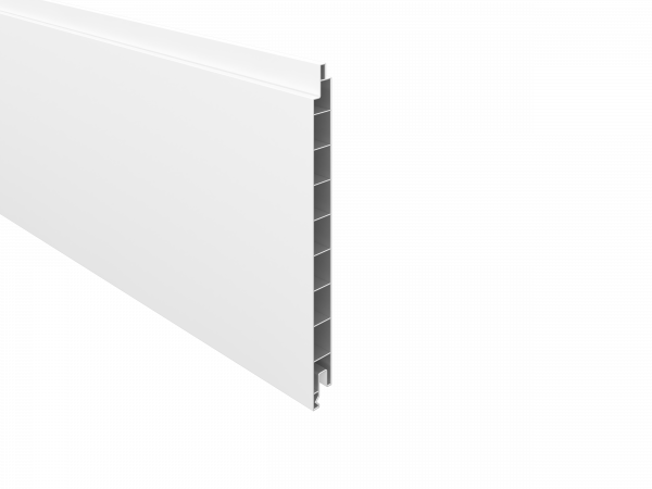 PVC- Füllprofil 200 x 17 mm, 1,76 m lang Weiß
