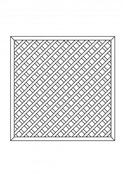 Rankgitter rechteckig B = 1,80 x H = 1,80 m