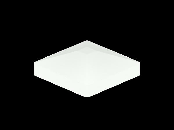 Alu-Pfostenkappe Pyramide 87x87 mm