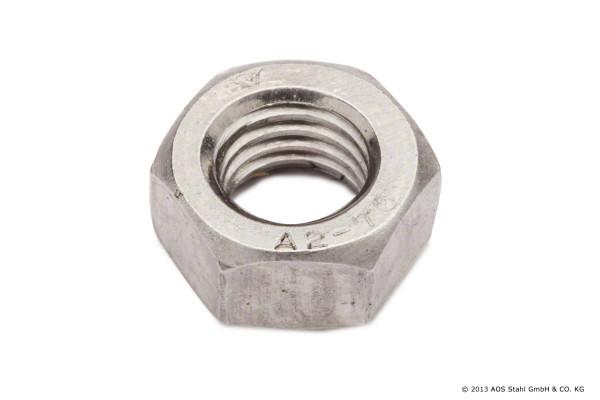 Sechskantmutter M8 DIN 934-A2
