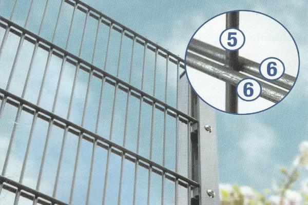 DSML 25 Höhe 1,80 m Länge 2,51 m verzinkt