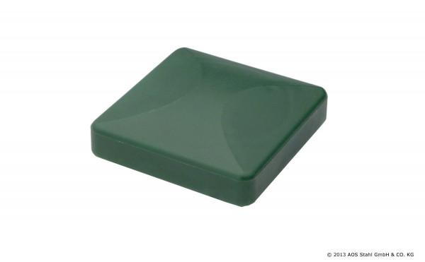 Kunststoffkappe 80/80 RAL9005 Schwarz