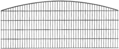 Schmuckzaun SYDNEY H= 1,00 m verzinkt