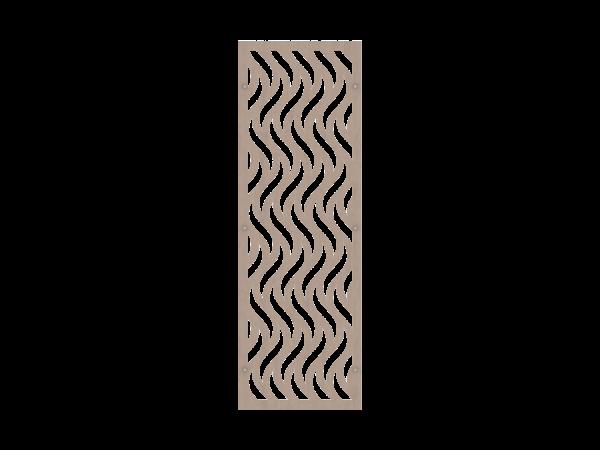 Alu-Resysta-Rankgitter rechteckig B = 0,60 x H = 1,80 m