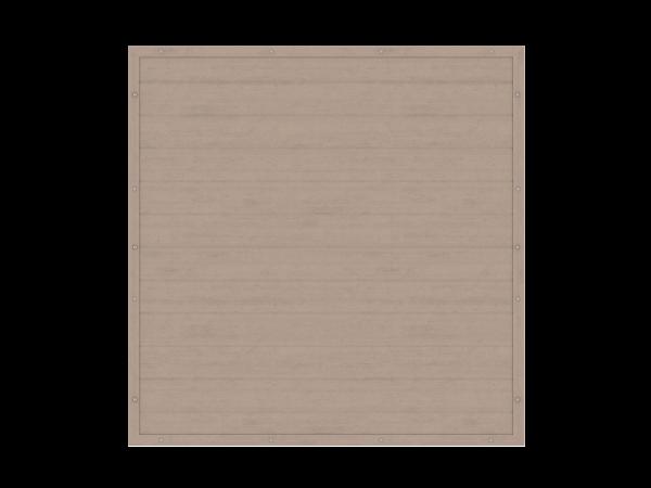 Resysta-Sichtschutz rechteckig B = 1,80 x H = 1,80 m