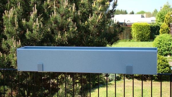 Aufsatzhalterung für Blumenkasten Tiefe 14 cm