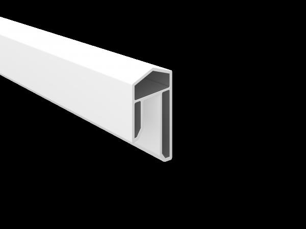 PVC-Abdeckleiste 31 x 17 mm, 1,76 m lang Weiß