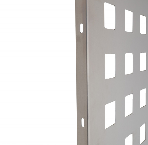 Alu-Schmuckblech B=930 mm H= 2030 mm silber Quadrat