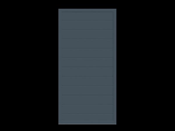 Alu-Sichtschutz rechteckig B = 0,90 x H = 1,80 m
