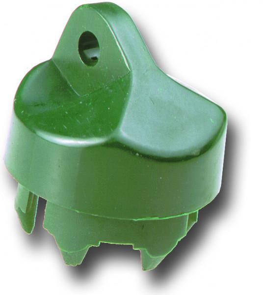 Strebenkappe für Rohr Ø 38 mm grün
