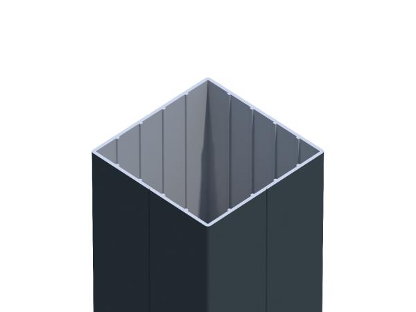 Alu-Zaunpfosten 8,70 x 8,70 cm
